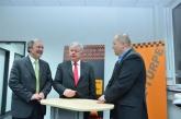 Besuch des CDU Landtagskanditaten Arnulf zu Eyb bei der Kanal-Türpe GmbH